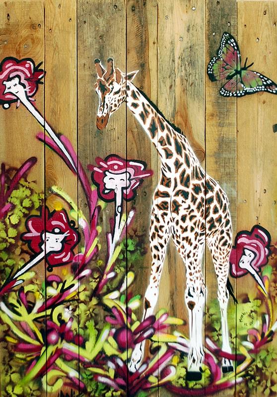 Girafe et fleurs (feat. Mosko), 2012